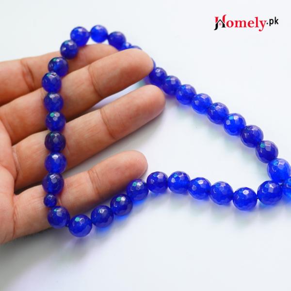 blue jade tasbeeh