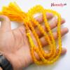 zard aqeeq tasbeeh yellow agate rosary