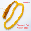 yellow jade tasbeeh